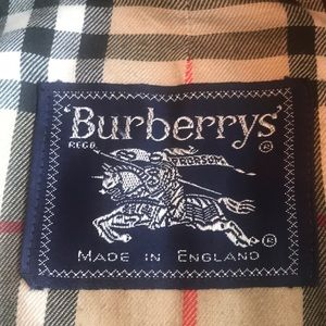 Burberry Driving Coat